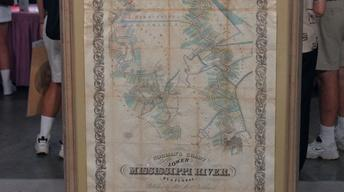 Appraisal: 1858 Map of Lower Mississippi