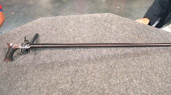 S20 Ep22: Appraisal: Jacob Kunz Pistol Cane, ca. 1830