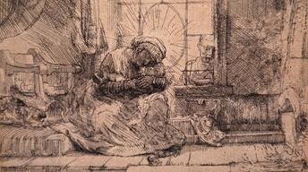 Appraisal: 1654 First State Rembrandt Etching