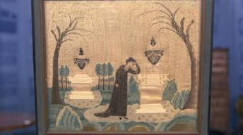 S21 Ep21: Appraisal: Mourning Embroidery, ca. 1810
