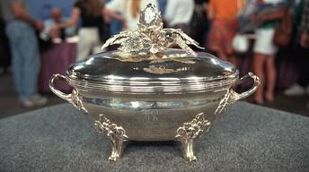 Appraisal: 1774 Louis XVI Silver Soup Tureen