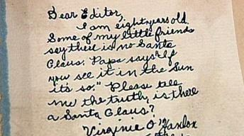 "Appraisal: 1897 ""Yes, Virginia"" Santa Claus Letter"
