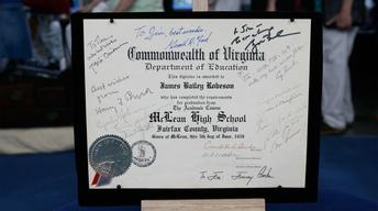 S12 Ep19: Appraisal: Autographed Diploma with Presidential S