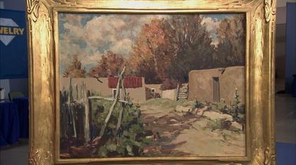 Antiques Roadshow -- Appraisal: Fremont Ellis Painting