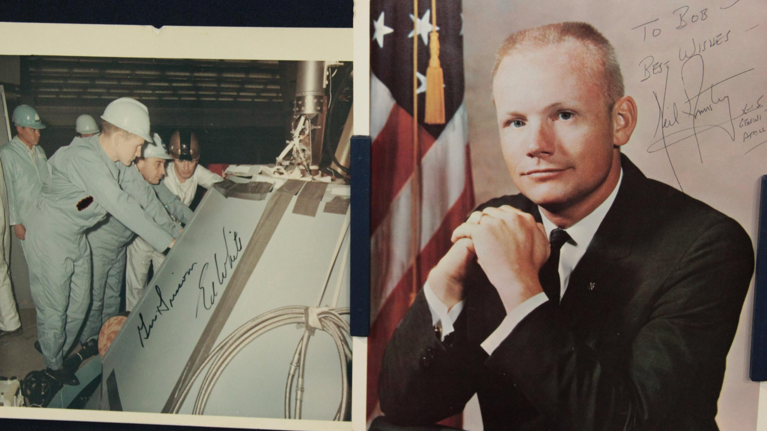 Bonus Appraisal: Signed NASA Photos, ca. 1965