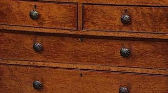 Appraisal: Maple Chest, ca. 1830