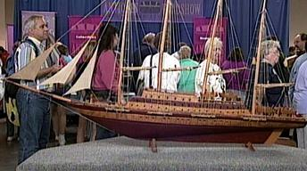 S16 Ep23: Appraisal: Folk Art Model Ship, ca. 1900
