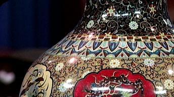 Appraisal: Japanese Cloisonné Palace Vase