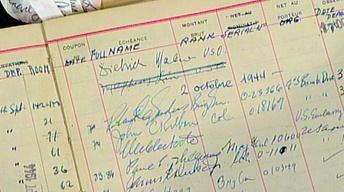 Appraisal: World War II Paris Hotel Guest Book