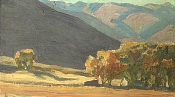 Appraisal: 1919 Maynard Dixon Painting