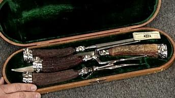 Appraisal: Two Carving Sets