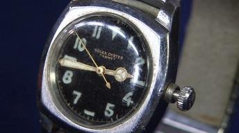 """Appraisal: Rolex """"Army"""" Wristwatch, ca. 1940"""