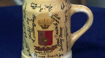 Appraisal: James Naismith Signed Stein