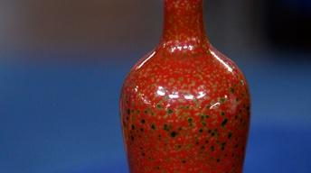 Appraisal: Three Chinese Glazed Vases