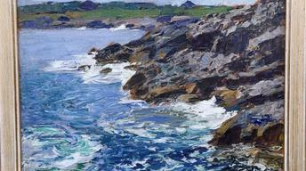 Appraisal: Edward Potthast Oil Painting