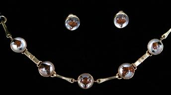 Appraisal: 20th-Century Sporting Motif Jewelry