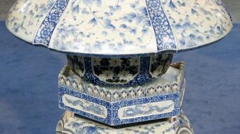 Appraisal: Japanese Porcelain Lantern, ca. 1900