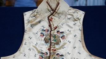 Appraisal: 18th-Century Man's Embroidered Vest
