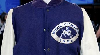 Appraisal: Johnny Unitas 1958 Championship Jacket