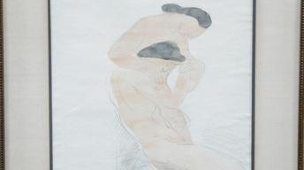 Appraisal: Unauthenticated Auguste Rodin Drawing