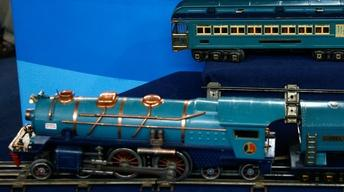 Appraisal: Lionel Blue Comet Train, ca. 1935