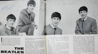 Appraisal: Signed Beatles Program, ca. 1963