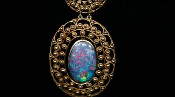Appraisal: Louis Comfort Tiffany Necklace, ca. 1915