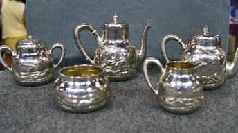 S21 Ep25: Appraisal: 1883 Dominick & Haff Silver Tea Set