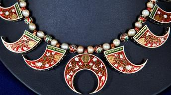 Appraisal: Mughal Indian Reversible Necklace, ca. 1900