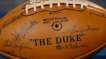 Appraisal: 1963 & 1966 Green Bay Packers Signed Footballs
