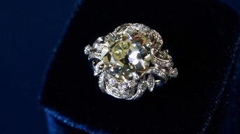 Appraisal: Platinum & Diamond Ring, ca. 1950