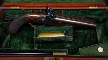 Appraisal: English Houdah Pistols, ca. 1846