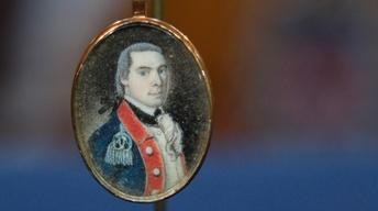Appraisal: Miniature Portrait on Ivory, ca. 1785