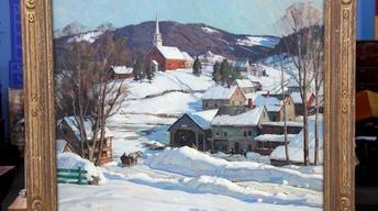 Appraisal: 1948 Aldro Hibbard Oil Painting