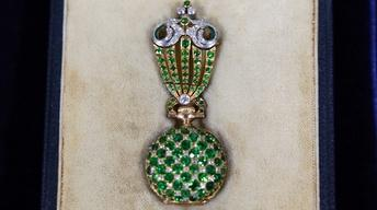 Appraisal: Tiffany & Co. Demantoid Garnet Watch with Fob