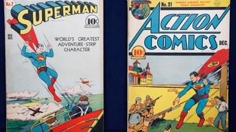 "Appraisal: ""Superman 7"" & ""Action 31"" Comic Books"