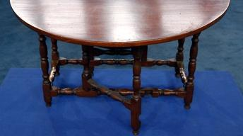 Appraisal: Massachusetts William & Mary Gateleg Table