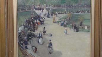 Appraisal: Alson Skinner Clark Oil Painting, ca. 1900