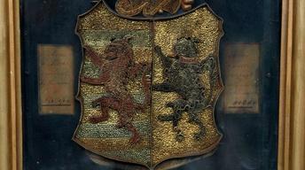 Appraisal: 1734 American Paper Filigree Crest
