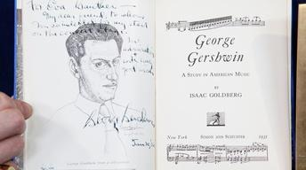 Appraisal: George Gershwin Collection, ca. 1930