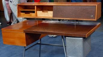 Appraisal: 1946 George Nelson for Herman Miller Desk