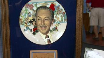 Appraisal: Walt Disney Autograph, ca. 1960