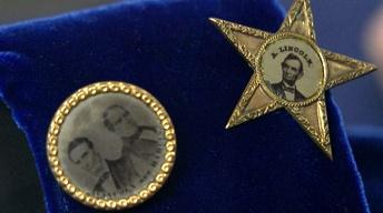 Appraisal: Abraham Lincoln Campaign Buttons, ca. 1860