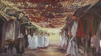 Appraisal: Théophile Jean Delaye Watercolors
