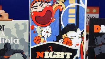 Appraisal: American Art Deco Poster & Maquettes, ca. 1920