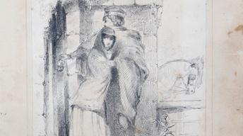 Appraisal: Whistler Ink Drawing, ca. 1851