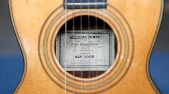 Appraisal: Martin & Coupa Guitar, ca. 1845