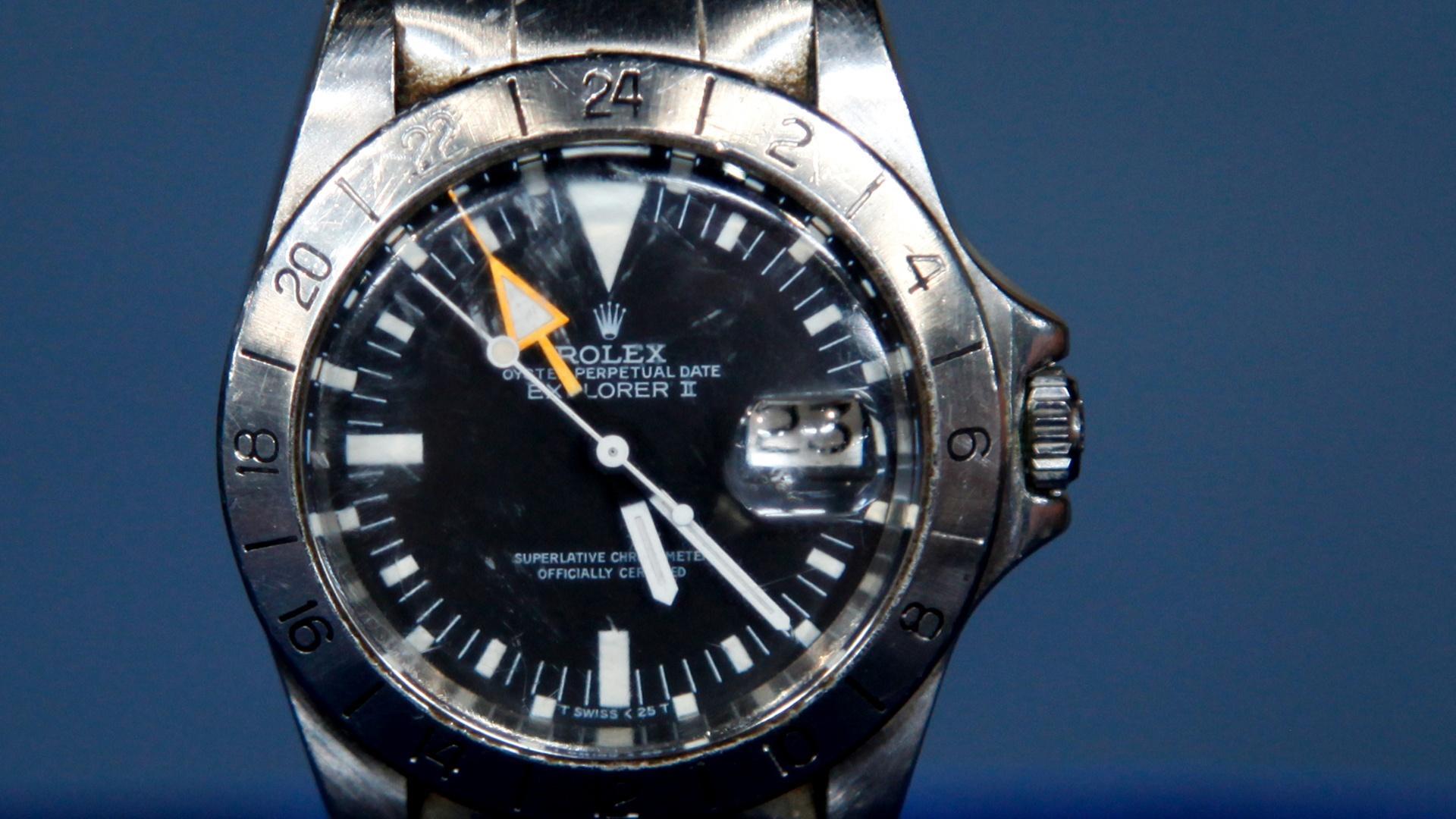 Video: S17 Ep8: Appraisal: Rolex Explorer II Watch, ca ...