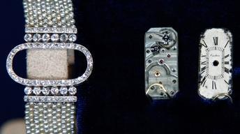 Appraisal: Cartier Art Deco Wristwatch, ca. 1920