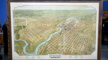 Appraisal: 1905 Spokane Bird's-Eye View Lithograph